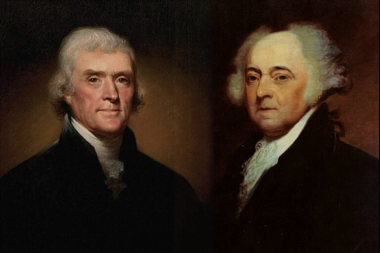 John Addams and Thomas Jefferson