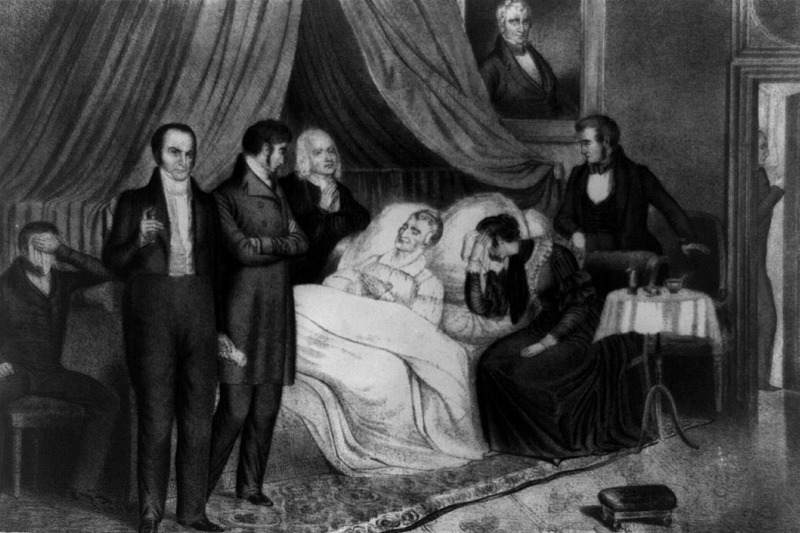 The Death of William Henry Harrison