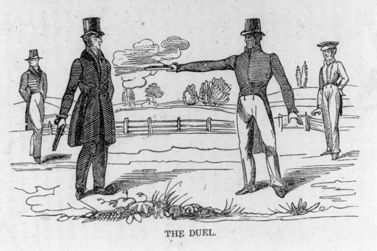 The Duel - Andrew Jackson and Charles Dickinson
